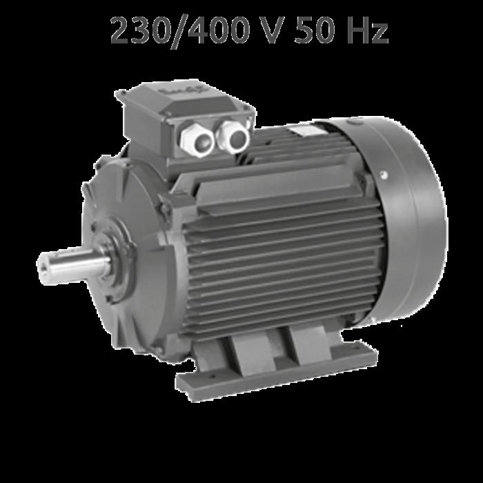 4P-EGH160L Motor trifasico 20 CV 1500 RPM fundición