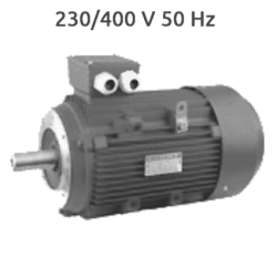 6P-IE3-MS132M2 B14 Motor 5,5 KW (7,5 CV) 1000 RPM Trifasico IE3 CEMER