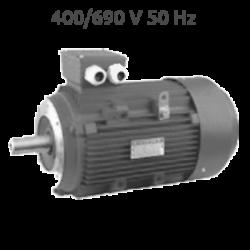6P-IE3-MS132M2 B14 400/690 V Motor 5,5 KW (7,5 CV) 1000 RPM Trifasico IE3 CEMER