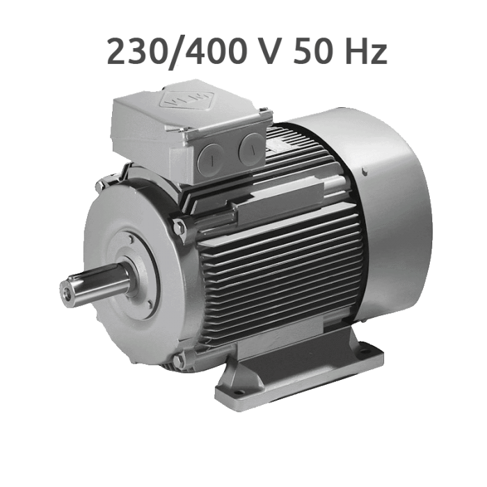 K2 1R 112M 4-2 Motor 2 Velocidades 1500/3000 rpm 3,7/4,4 KW (5,0/6,0 CV) Trifasico VEM