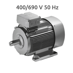 K21R 112M 6-4 Motor 2 Velocidades 1000/1500 rpm 2,2/3,3 KW (1,6/2,4 CV) Trifasico VEM 400/690