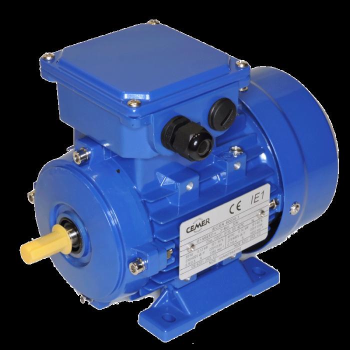 4P-MSE632 Motor 0,18 KW (0.25 CV) 1500 RPM Trifasico