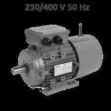 4-MSEF632 Motor trifasico 0,25 CV 1500 RPM con freno electrico
