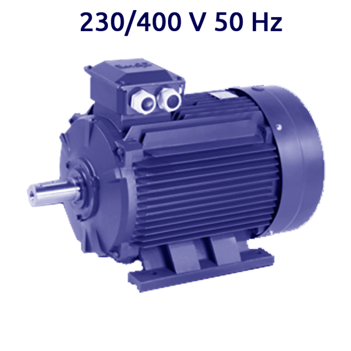 2P-IE2-MS132S2 Motor trifasico 7,5 KW (10 CV) 3000 RPM IE2 CEMER