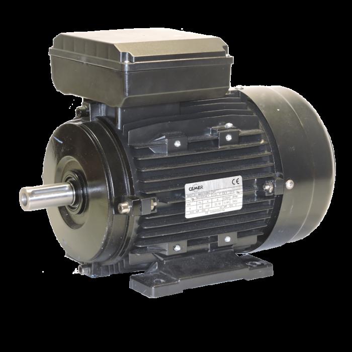Motor 3 KW (4 CV) 3000 RPM Monofasico con condensador permanente CEMER