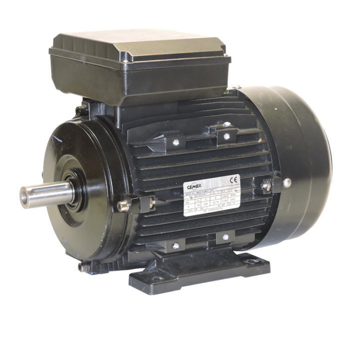 4MLE100L2 Motor monofasico 4CV 1500 rpm alto par de arranque