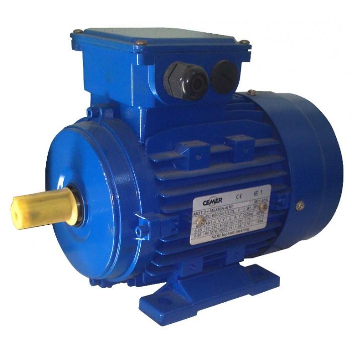 4P-MS100L1 Motor trifasico 3 CV 1500 RPM IE1