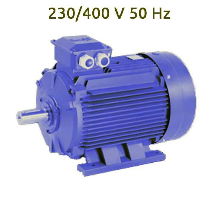 4P-MS100L3 Motor trifasico 4 KW (5.5 CV) 1500 RPM IE1 CEMER
