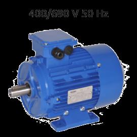 8P-MS100L1 Motor 0,75 KW (1 CV) 750 RPM Trifasico CEMER 400/690V