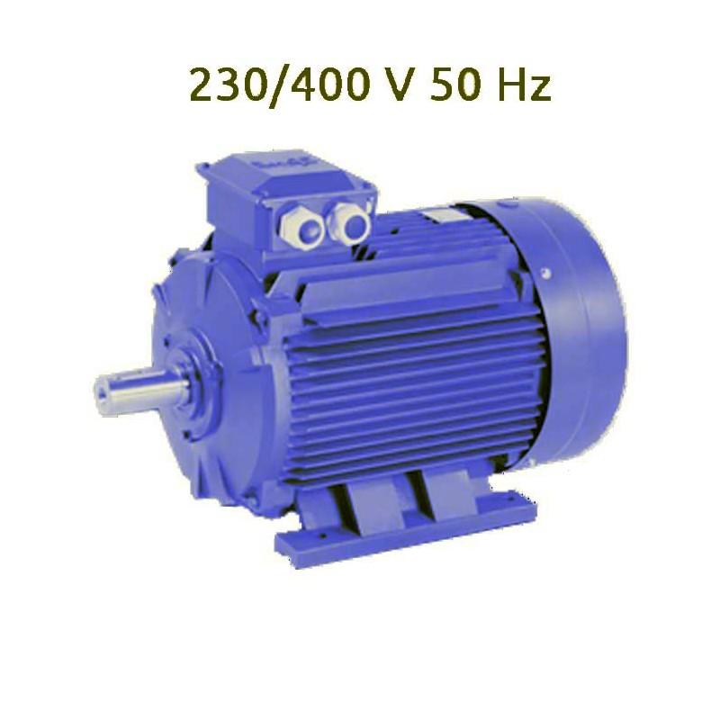 4P-MS132M Motor trifasico 10 CV 1500 RPM IE1