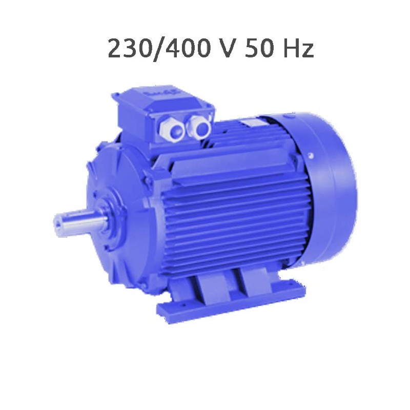 2P-MSE112L Motor trifasico 5,5 KW (7,5 CV) 3000 RPM IE1 CEMER