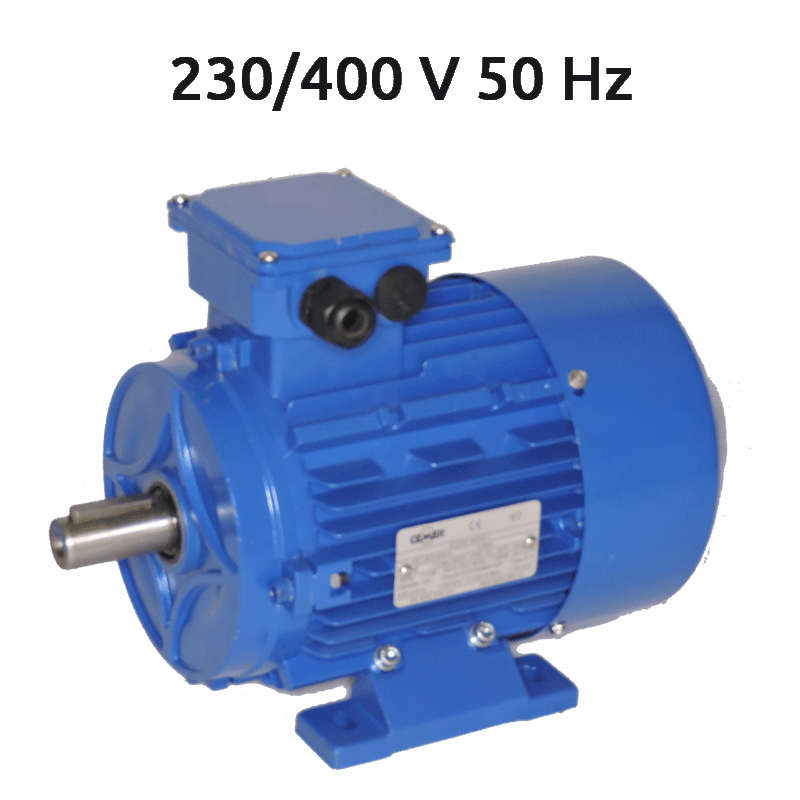 4P-IE2-MS100L3 Motor 4 KW (5,5 CV) 1500 RPM Trifasico IE2 CEMER