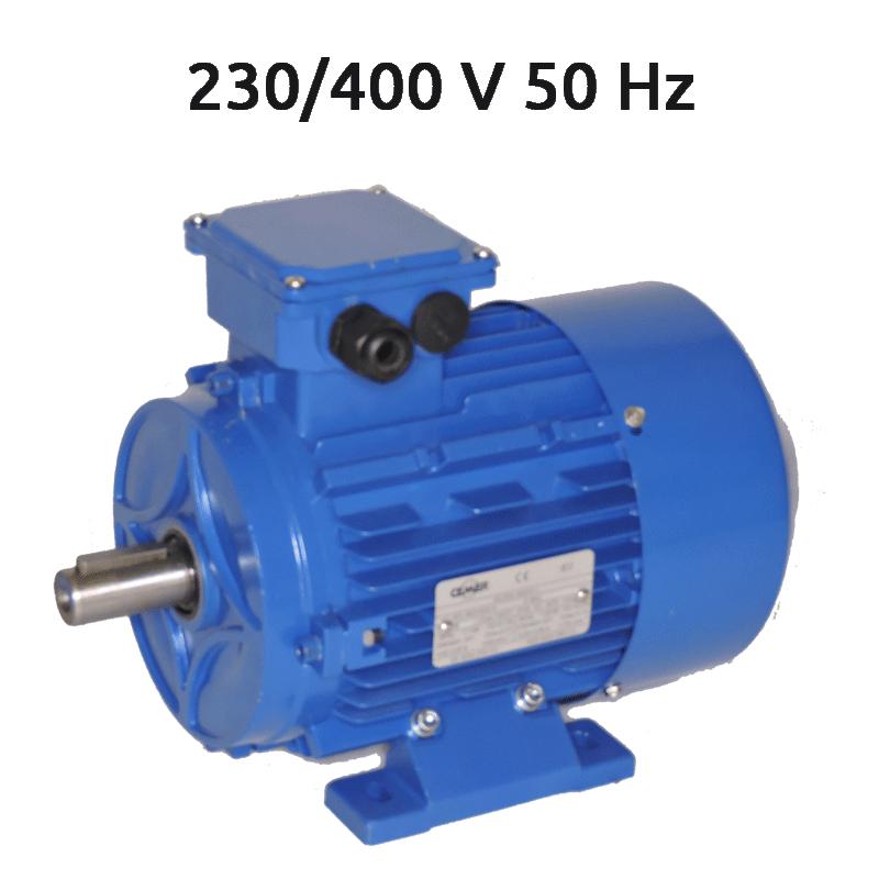 4P-MSE132L1 Motor 12,5 CV 1500 RPM IE1