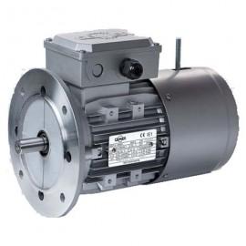 2p MSEF711 B5 Motor trifasico 0,5 CV 3000 RPM con freno electrico