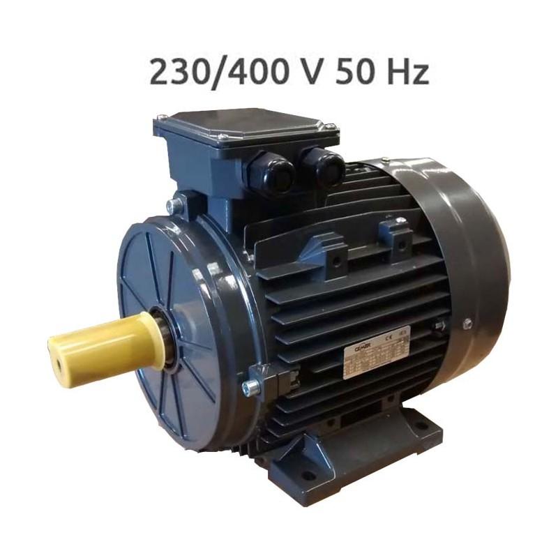 4P-IE3-MS100LA Motor trifasico IE3 3 2,2 KW 3 CV 1500 PRM