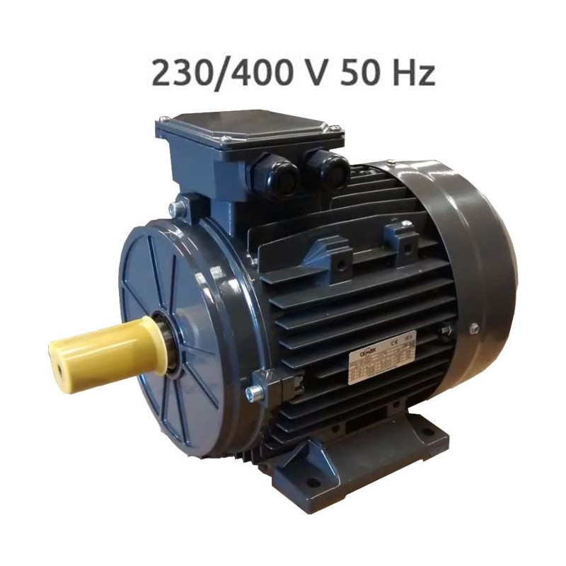 6P-IE3-MS90L Motor 1,1 KW (1,5 CV) 1000 RPM Trifasico IE3 CEMER