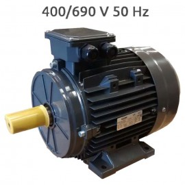 6P-IE3-MS160L 400/690v  Motor 11 KW (15 CV) 1000 RPM Trifasico rendimiento IE3 CEMER