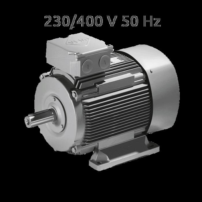 K21R 112M 6-4 Motor 2 Velocidades 1000/1500 rpm 2,2/3,3 KW (1,6/2,4 CV) Trifasico VEM