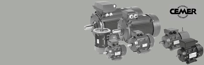 Motores eléctricos CEMER